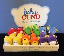 Box Of 12 Baby Gund Loopty Loop 5772 Plush Rattle Toy NWT
