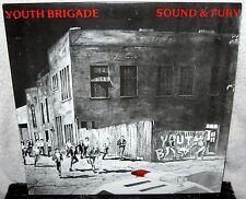 YOUTH BRIGADE Sound And Fury LP PUNK ROCK Hardcore SHAM 69 Agression 7 SECONDS