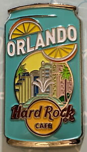Hard Rock Cafe ORLANDO 2020 SODA POP USA Regional Series PIN New on Card!