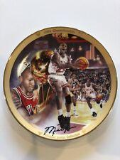 "Michael Jordan ""1991 Championship"" Plate Bradford Exchange Upper Deck"