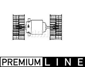 Man 90 2000 L F Unterflur Mercedes Ng Mk Volvo BEHR Heater Fan Blower