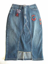 TEDDY SMITH JUPE JEANS TRES ORIGINALE 34/36 TAILLE 27