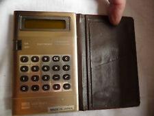 Calculator SHARP ELSI MATE EL 8021 + case  .. B7