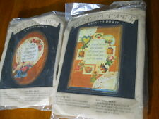 Lot of 2 Decoupage Easy to Do Kits from Banar Designs #DP 12102 & DP 12110