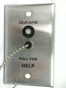 VINTAGE DUKANE Medical Pull For Help Unit 9A1405A *RARE*