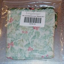 Longaberger American Holly SMALL STORAGE SOLUTIONS Basket Liner ~ Brand New!