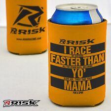 Risk Racing BIRRA Isolante Comodo Arancione divertente bottiglia di portalattine