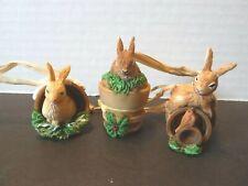 Marjolein Bastin Nature's Sketchbook 2001 Bunny trio (no box)