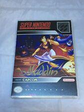 Disney's Aladdin Custom SNES Super Nintendo Case Only (No Game included)