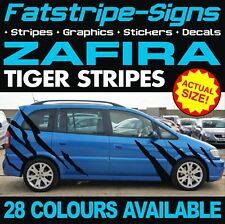 VAUXHALL ZAFIRA TIGER STRIPES GRAPHICS STICKERS DECALS VXR OPEL GSI TURBO