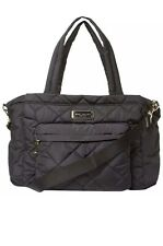 New Marc by Marc Jacobs Crosby Nylon Quilted Diaper Bag with Changing Pad