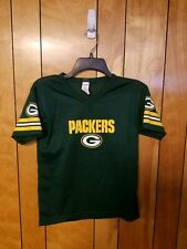 Green Bay Packers Jersey CHILDS M MEDIUM GREEN NFL by Frankllin GO PACK GO