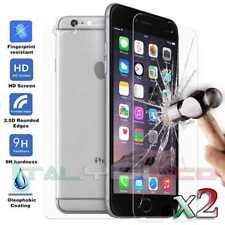 2x Pellicola di Vetro Temperato Antigraffio per iPhone 6 Anteriore e Posteriore