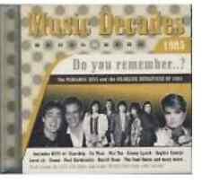 CD MUSIC DECADES Do you remember .. ? 1985  16 Titres Disco Funk
