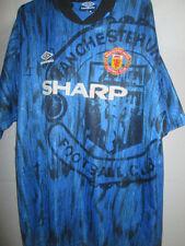 Manchester United Man Utd 1992-1993 Away Football Shirt Size XL /15443