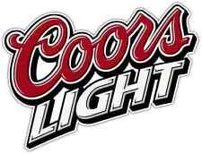 """Coors Light Beer Alcohol Car Bumper Window Locker Sticker Decal 5""""X4"""""""