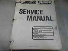Mercury Mariner Outboards Service Shop Repair Manual Binder a719280 90-13645-1 x