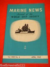 MARINE NEWS - APRIL 1969 VOL XXlll # 4