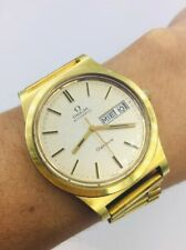 Vintage Omega Automatic Swiss Made 36mm Gold Tone Watch W1