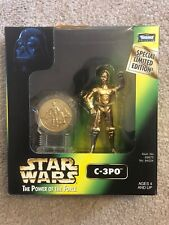 Star Wars POTF C-3PO Millennium Minted Coin
