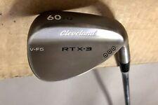 Cleveland RTX-3 V-FG Tour Satin Wedge 60*-12 Wedge Flex Steel Golf Club