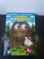 New Sealed The Legend of Sasquatch (DVD Movie) Animated William Hurt