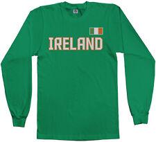 Ireland National Team Men's Long Sleeve T-Shirt Irish Pride