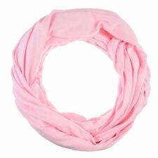 Sciarpe, foulard e scialli da donna rosa tinta unita in poliestere