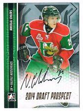 2014-15 ITG Draft Prospects Autograph Auto Gold #A-NE2 Nikolaj Ehlers /20 !!