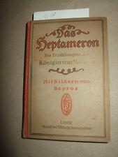 El heptameron-las historias de la reina de Navarra, 1915, Roman literatura