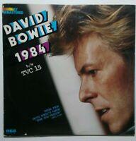 "David Bowie - 1984/TVC15 - original 1976 U.S. white label promo 12"" EP vinyl"