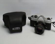 Yashica TL-Electro 35mm SLR Camera + Yashinon DS-M 50mm 1:1.7 Lens inc UK P+P