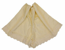 Ladies Plus Size French Knickers. Black Cream or White. 16-18 26-28 30-32 34-36