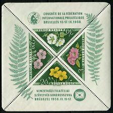 HONGRIE Bloc N°34 Thème Flore Neuf ** LUXE