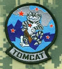 TOMCAT F-14 FIGHTER TOP GUN TOPGUN FLIGHT SUIT TOMCAT RED STAR TEAM νeΙ©®😎PATCH