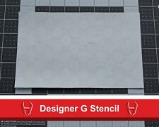 Custom Vinyl Designer GG Stencil for Custom Shoes - Custom Designer Stencils