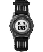 Timex TW7C26400, Kid's Time Machines Watch, Black Wrapstrap, Indiglo, Alarm