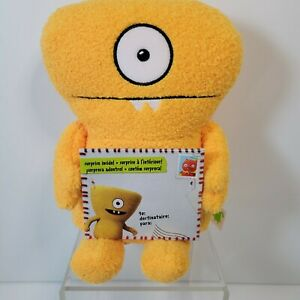 """Ugly Dolls Hugs and Headstands Wedgehead Yellow Plush New with Tags 9"""""""