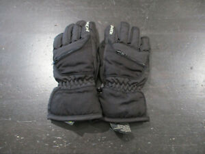 Kombi Gloves Youth Medium Black Gray Boys Girls Kids Winter Mittens Outdoors