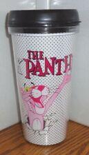 PINK PANTHER TRAVEL MUG. 16 oz  TV CARTOONS. TUMBLER MUG.