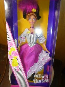 French Barbie Dolls Of The World Collection Collector/Special Edition New In Box