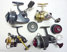 Vintage International Spinning Fishing Reel Collection: Alcedo, Daiwa, Penn, DAM