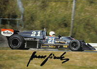 Hans Binder (AUT) Formel Eins 1976 Wolf Racing original signiert/signed !!!