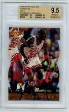 Michael Jordan 1998 Upper Deck Timepieces Gold 8/23 BGS 9.5 True Gem