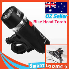 Bike Front LED Torch Cycling Flashlight Waterproof Bicycle Head Light AU Stock