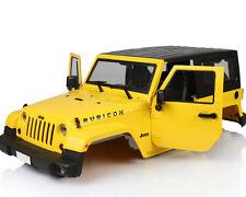 1:10 Crawler Car RC Model Yellow Plastic Modified BODY SHELL