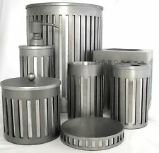 Hecho a Mano 7 Piezas Plata Capa Metal Dispensador Jabón + + Vaso + Tarro,Tapa +