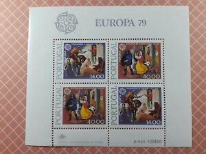 Bloc Feuillet Num 27 - Europa - Portugal 1979