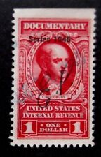 US-Revenue-1945-$1 Documentary stamp-Used