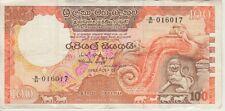 SRI LANKA BANKNOTE  P95-6017  100 RUPEES 1981-01-01, VF